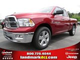 2012 Deep Cherry Red Crystal Pearl Dodge Ram 1500 Big Horn Quad Cab #64663627