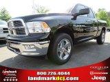 2012 Black Dodge Ram 1500 Big Horn Quad Cab #64663626