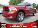 2012 Deep Cherry Red Crystal Pearl Dodge Ram 1500 Express Crew Cab #64663625