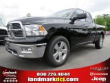 2012 Black Dodge Ram 1500 Big Horn Quad Cab #64663621