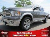 2012 Mineral Gray Metallic Dodge Ram 1500 Laramie Crew Cab 4x4 #64663619