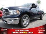 2012 True Blue Pearl Dodge Ram 1500 Big Horn Quad Cab #64663618