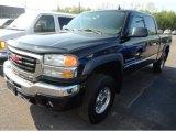 2006 Onyx Black GMC Sierra 2500HD SLT Crew Cab 4x4 #64664405
