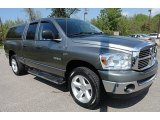 2008 Mineral Gray Metallic Dodge Ram 1500 Big Horn Edition Quad Cab 4x4 #64664394