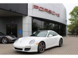 2012 Porsche 911 Carrara White