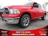 2012 Flame Red Dodge Ram 1500 Big Horn Quad Cab #64821469