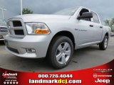 2012 Bright Silver Metallic Dodge Ram 1500 Express Crew Cab #64821467