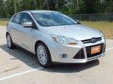 2012 Ingot Silver Metallic Ford Focus SEL 5-Door #64821950