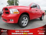 2012 Flame Red Dodge Ram 1500 Express Crew Cab #64821463