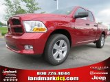 2012 Deep Cherry Red Crystal Pearl Dodge Ram 1500 Express Quad Cab #64821461
