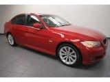 2009 Crimson Red BMW 3 Series 328i Sedan #64821719