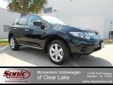 2010 Super Black Nissan Murano S #64821912