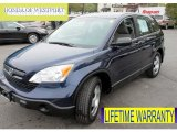 2008 Royal Blue Pearl Honda CR-V LX 4WD #64821425