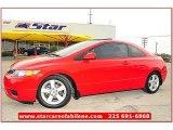 2007 Rallye Red Honda Civic EX Coupe #64821683