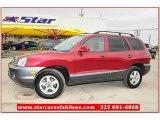 2004 Merlot Red Hyundai Santa Fe GLS #64821681