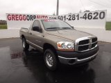 2006 Light Khaki Metallic Dodge Ram 1500 SLT Regular Cab #64821664