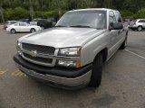 2005 Silver Birch Metallic Chevrolet Silverado 1500 LS Crew Cab #64821626