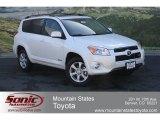 2012 Blizzard White Pearl Toyota RAV4 V6 Limited 4WD #64821320