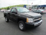 2009 Black Chevrolet Silverado 1500 LS Regular Cab 4x4 #64821300
