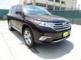 2012 Sizzling Crimson Mica Toyota Highlander Limited #64821568