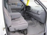 1999 Dodge Ram 1500 Sport Regular Cab 4x4 Mist Gray Interior