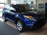 2013 Deep Impact Blue Metallic Ford Explorer Limited 4WD #64821536