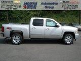 2012 Silver Ice Metallic Chevrolet Silverado 1500 LT Crew Cab 4x4 #64821520