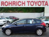 2012 Kona Blue Metallic Ford Focus SE 5-Door #64870564