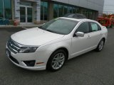 2010 White Platinum Tri-coat Metallic Ford Fusion SEL V6 #64870002