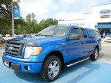 2010 Blue Flame Metallic Ford F150 STX SuperCab #64869931