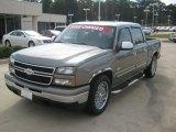 2007 Graystone Metallic Chevrolet Silverado 1500 Classic LS Crew Cab #64870144