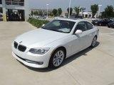 2012 Mineral White Metallic BMW 3 Series 328i Coupe #64870128