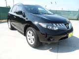 2009 Super Black Nissan Murano S #64870046
