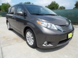 2012 Predawn Gray Mica Toyota Sienna Limited #64870032