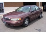 1999 Auburn Nightmist Metallic Buick Century Custom #64925272