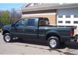 2001 Ford F250 Super Duty Dark Highland Green Metallic