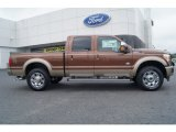 2012 Golden Bronze Metallic Ford F250 Super Duty King Ranch Crew Cab 4x4 #64924707