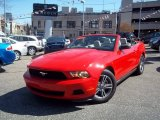 2011 Race Red Ford Mustang V6 Premium Convertible #64925210