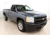 2009 Blue Granite Metallic Chevrolet Silverado 1500 Regular Cab #64924941