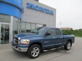 2006 Atlantic Blue Pearl Dodge Ram 1500 SLT Quad Cab 4x4 #64924657