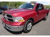 2011 Deep Cherry Red Crystal Pearl Dodge Ram 1500 SLT Quad Cab 4x4 #64924924