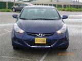 2012 Indigo Night Blue Hyundai Elantra GLS #64924608