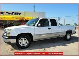 2004 Summit White Chevrolet Silverado 1500 LS Extended Cab #64924873