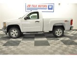 2012 Summit White Chevrolet Silverado 1500 LT Regular Cab 4x4 #64925107