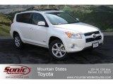2012 Blizzard White Pearl Toyota RAV4 V6 Limited 4WD #64924497