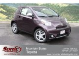 2012 Black Currant Metallic Scion iQ  #64924494