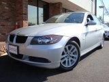 2007 Titanium Silver Metallic BMW 3 Series 328i Sedan #6483539