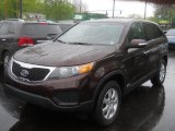 2011 Dark Cherry Kia Sorento LX AWD #64925036
