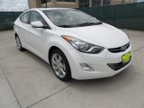 2013 Shimmering White Hyundai Elantra Limited #64924764