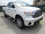 2012 Super White Toyota Tundra Texas Edition Double Cab 4x4 #64924763